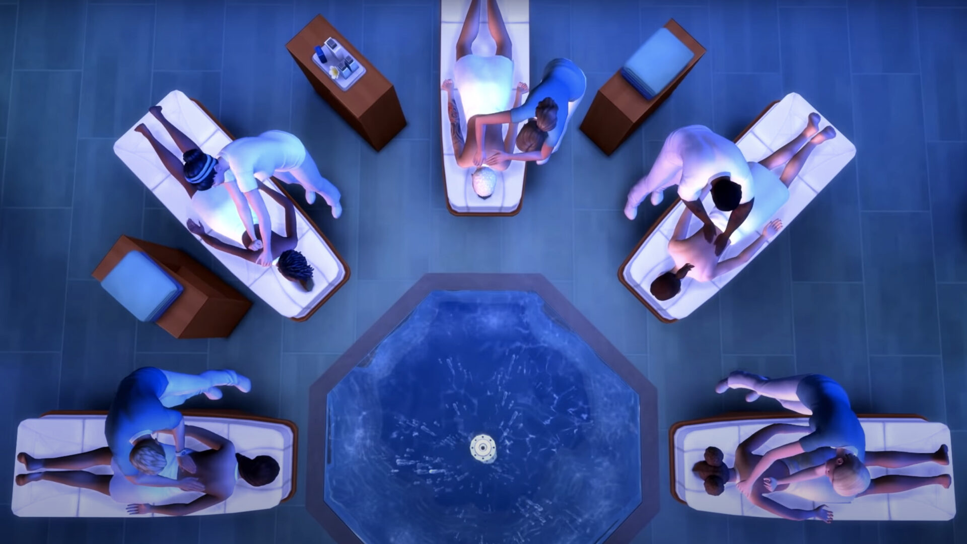Sims 4 Spa Day Refresh