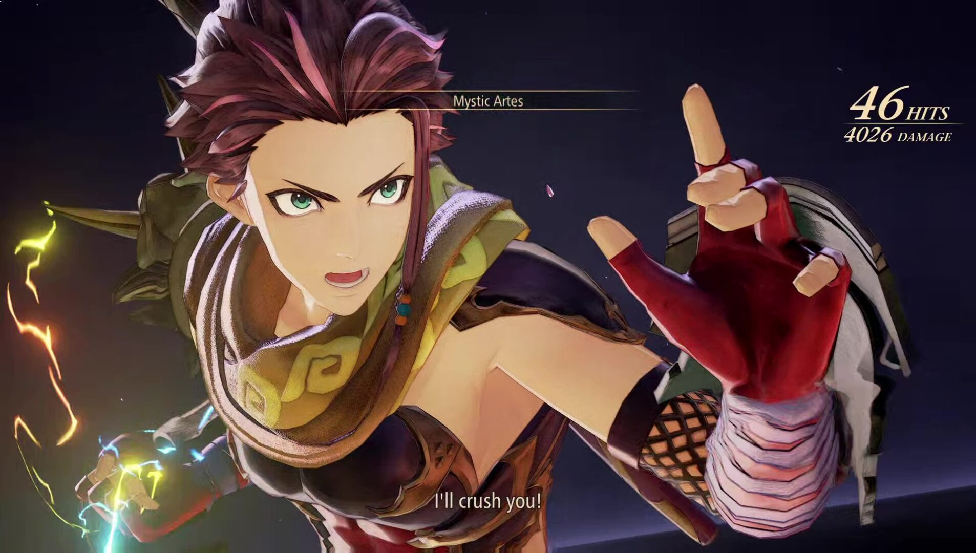 tales of arise over limit mystic artes