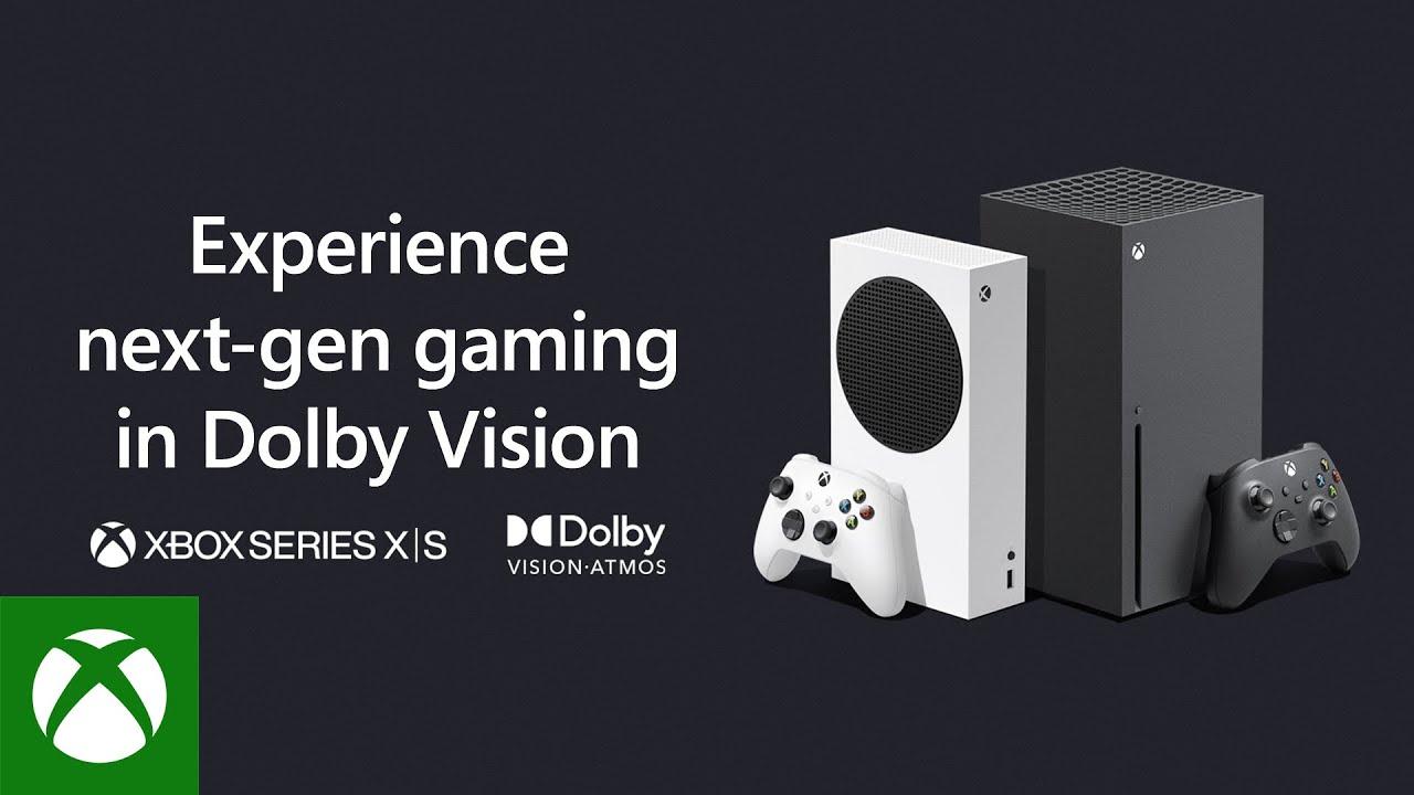 Xbox Series X S Dolby