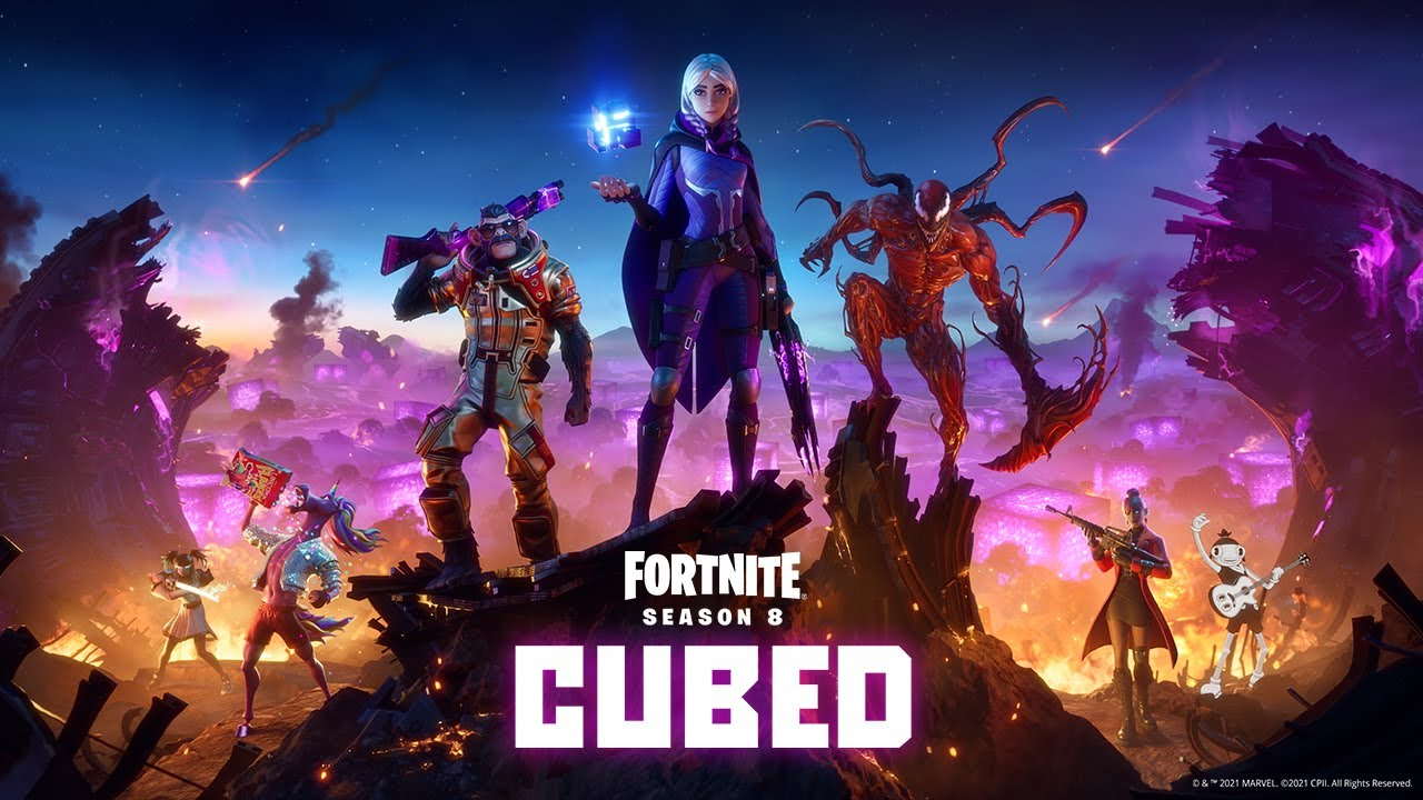 fortnite season 8 vaulted weapons and items