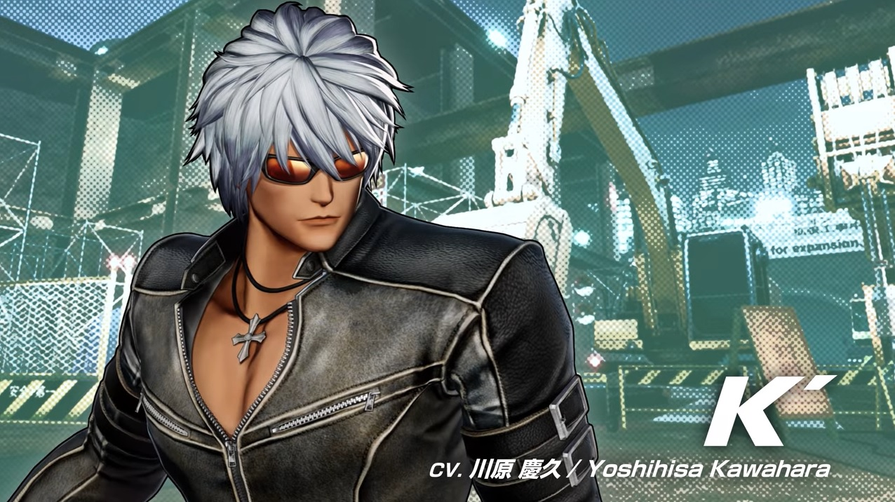 king of fighters xv k'