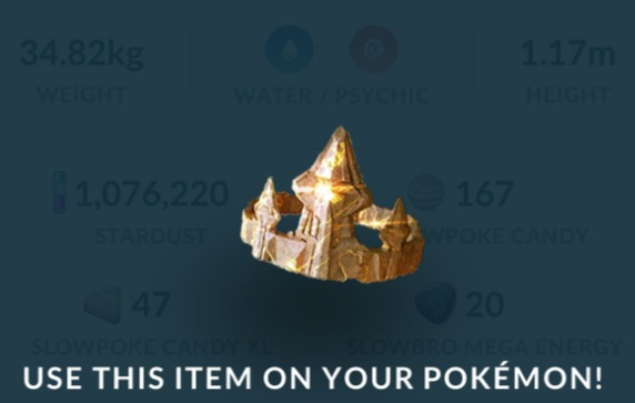 pokemon go king's rock