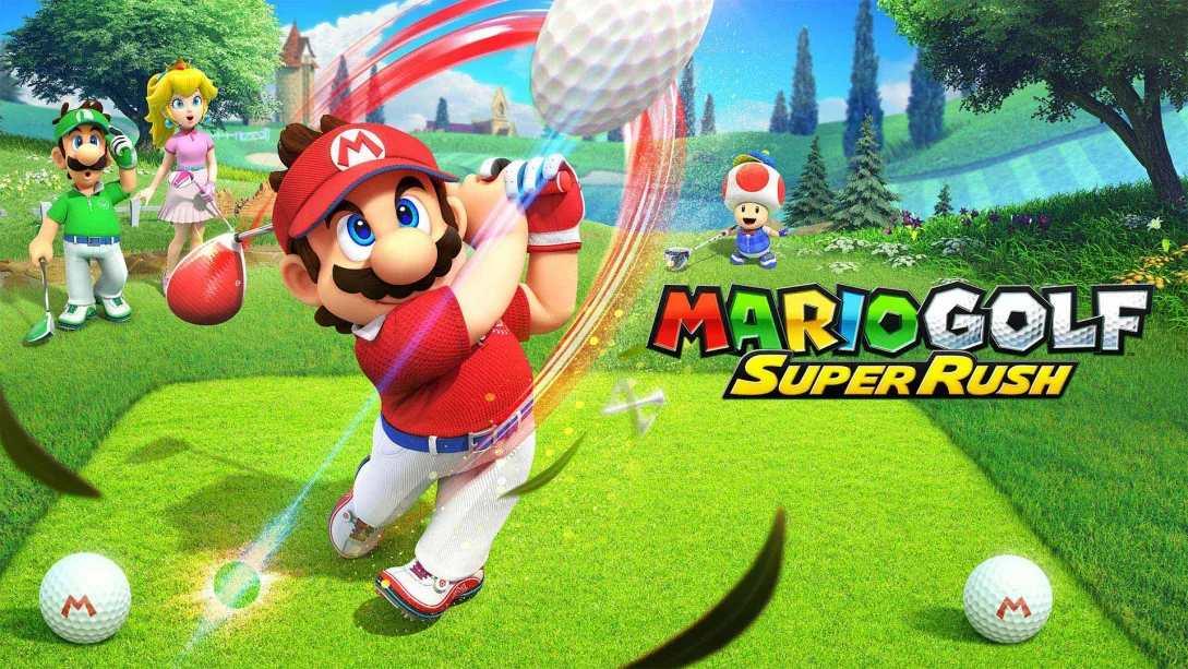 Mario Super: Golf Rush