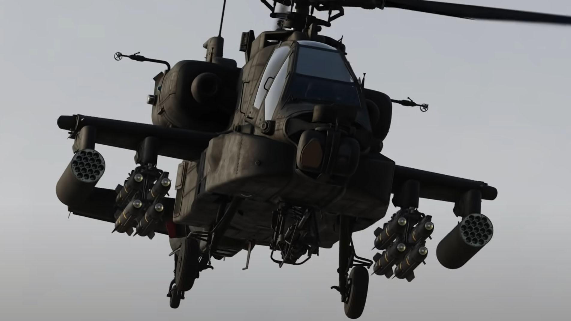 DCS World Apache