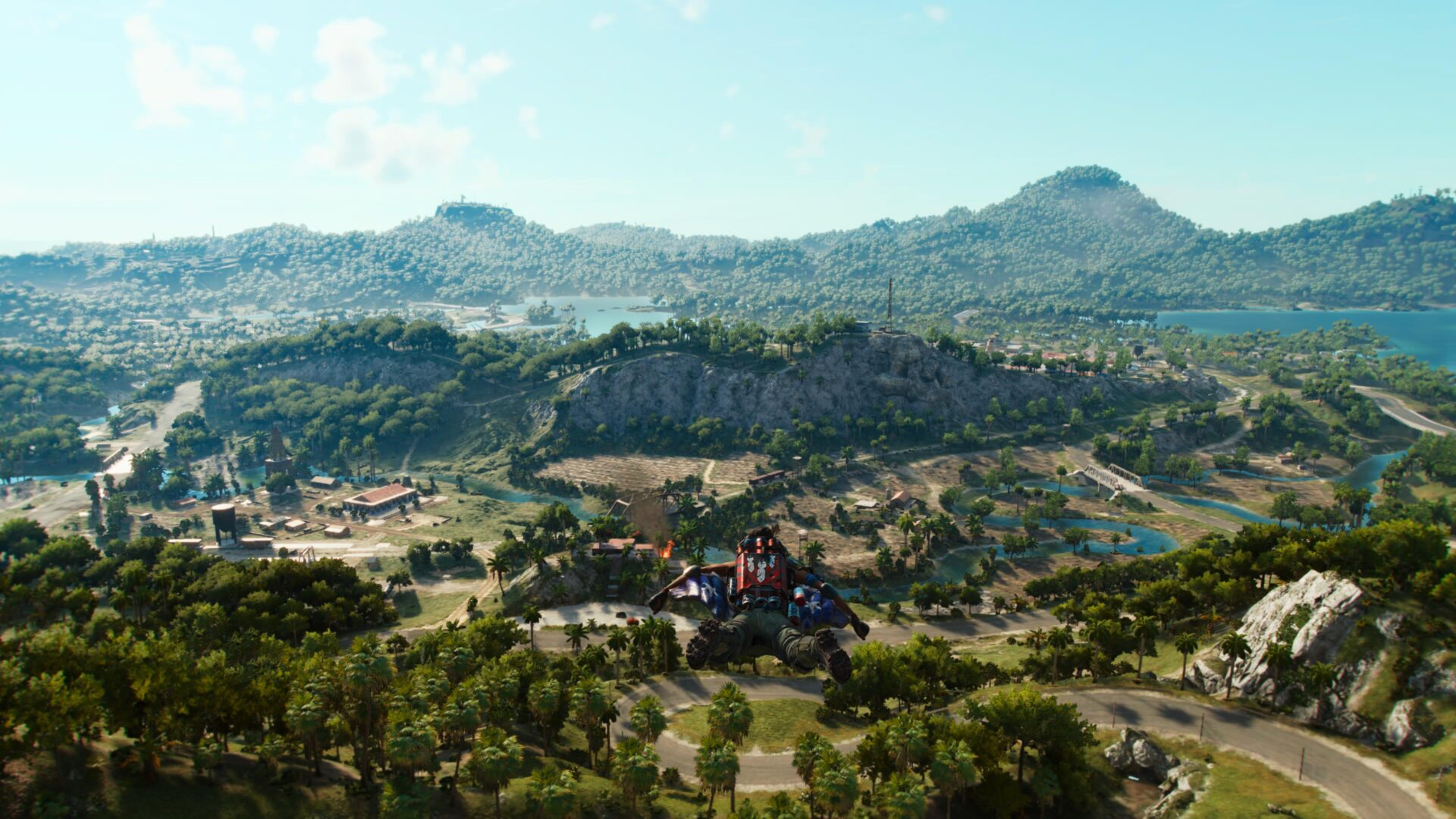 far cry map size