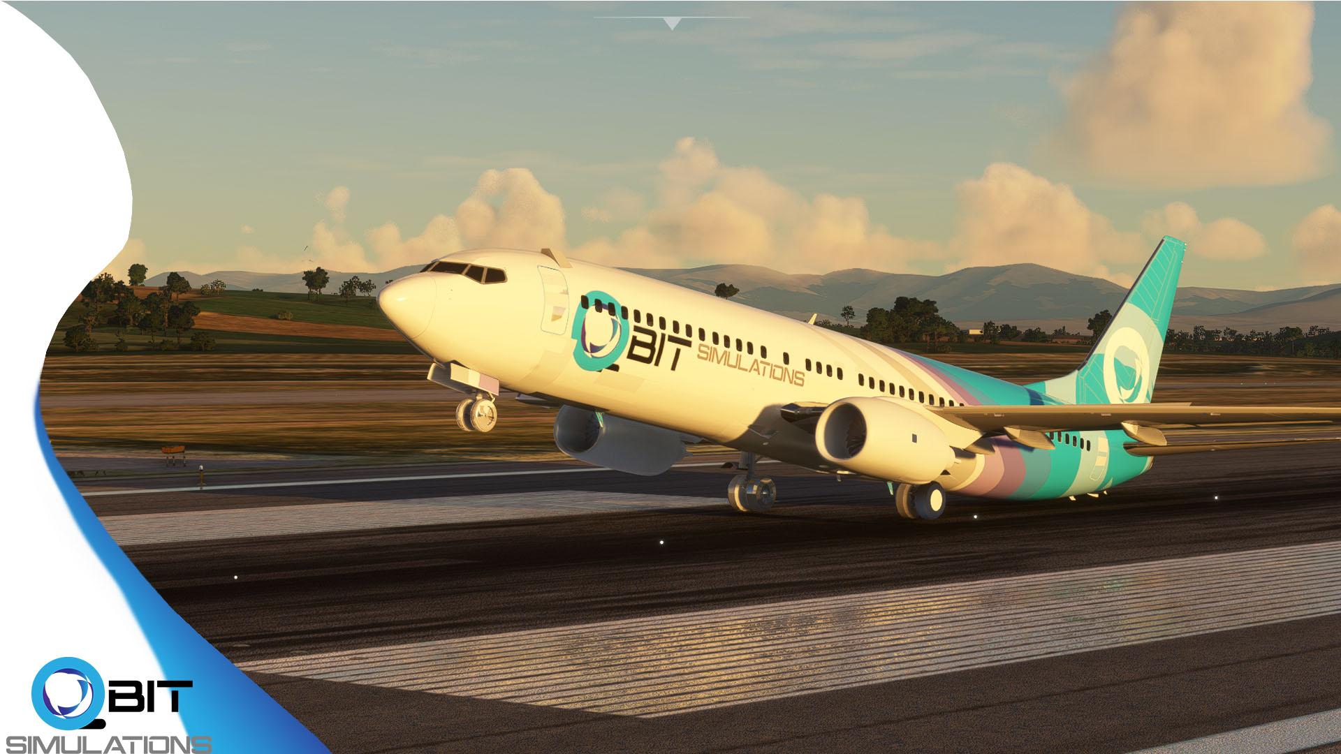 Microsoft Flight Simulator 737