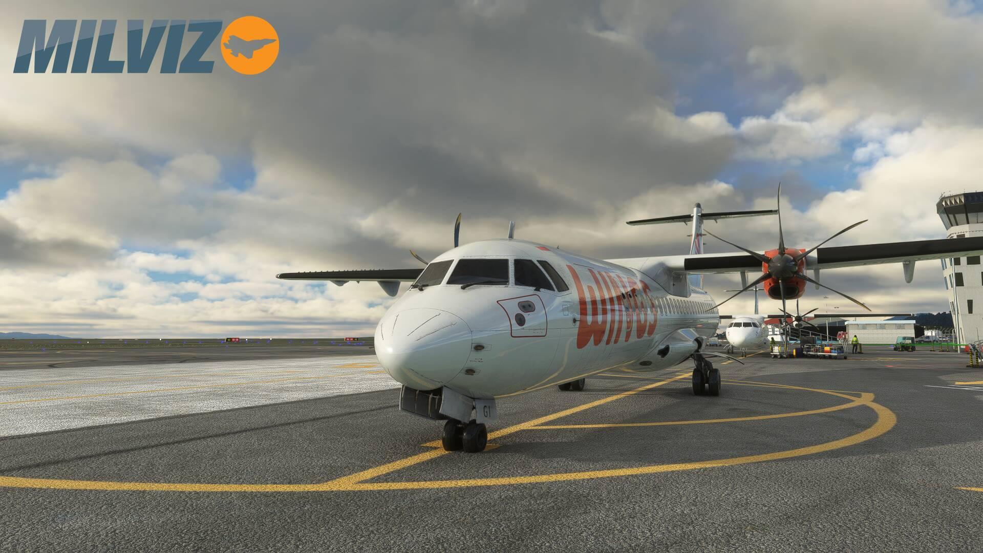 Microsoft Flight Simulator ATR42