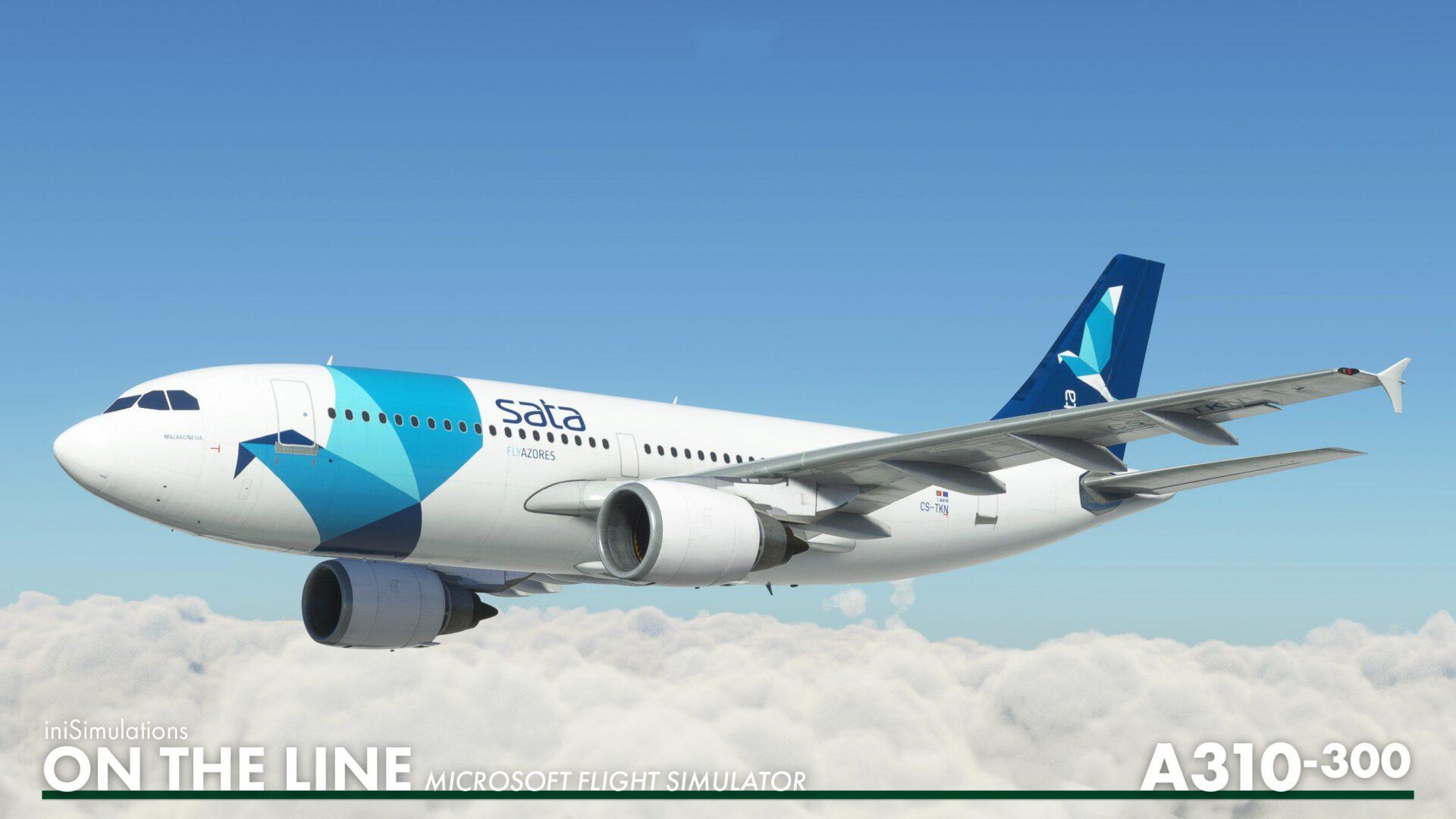 Microsoft Flight Simulator Airbus A310
