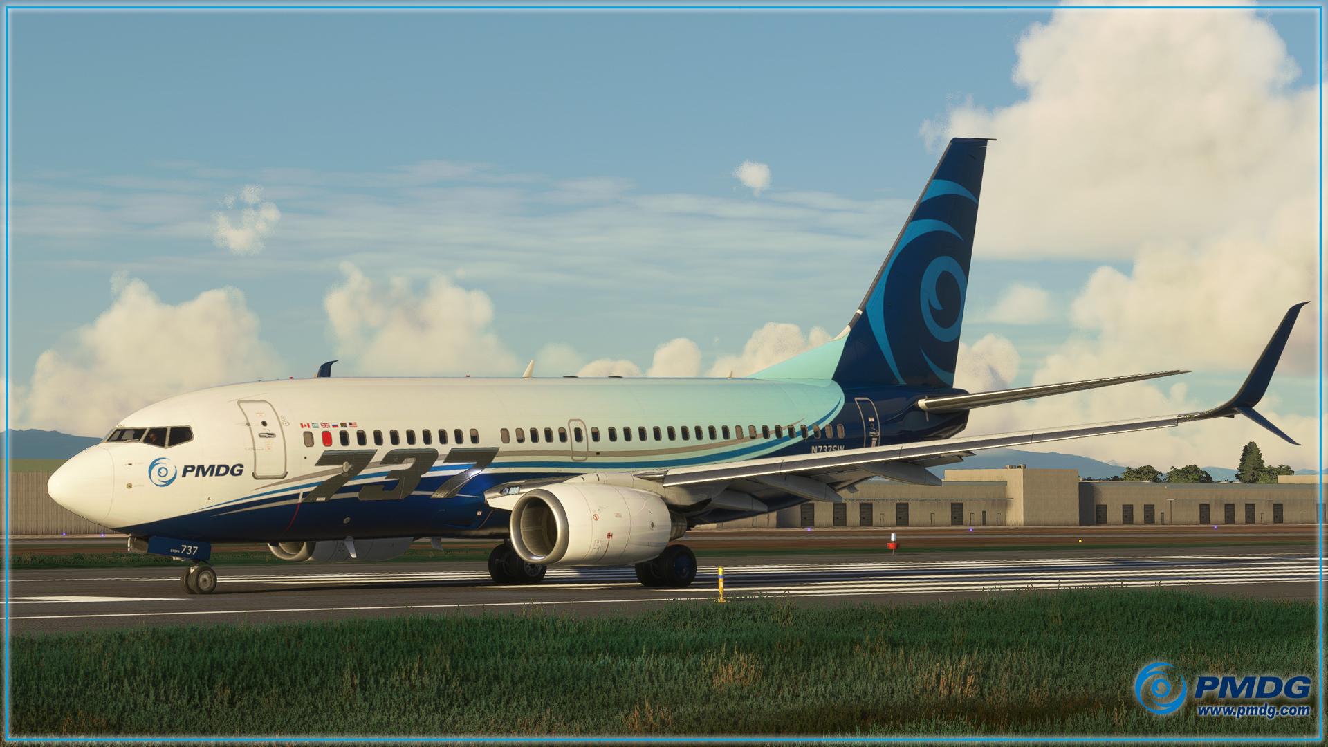 Microsoft Flight Simulator PMDG 737