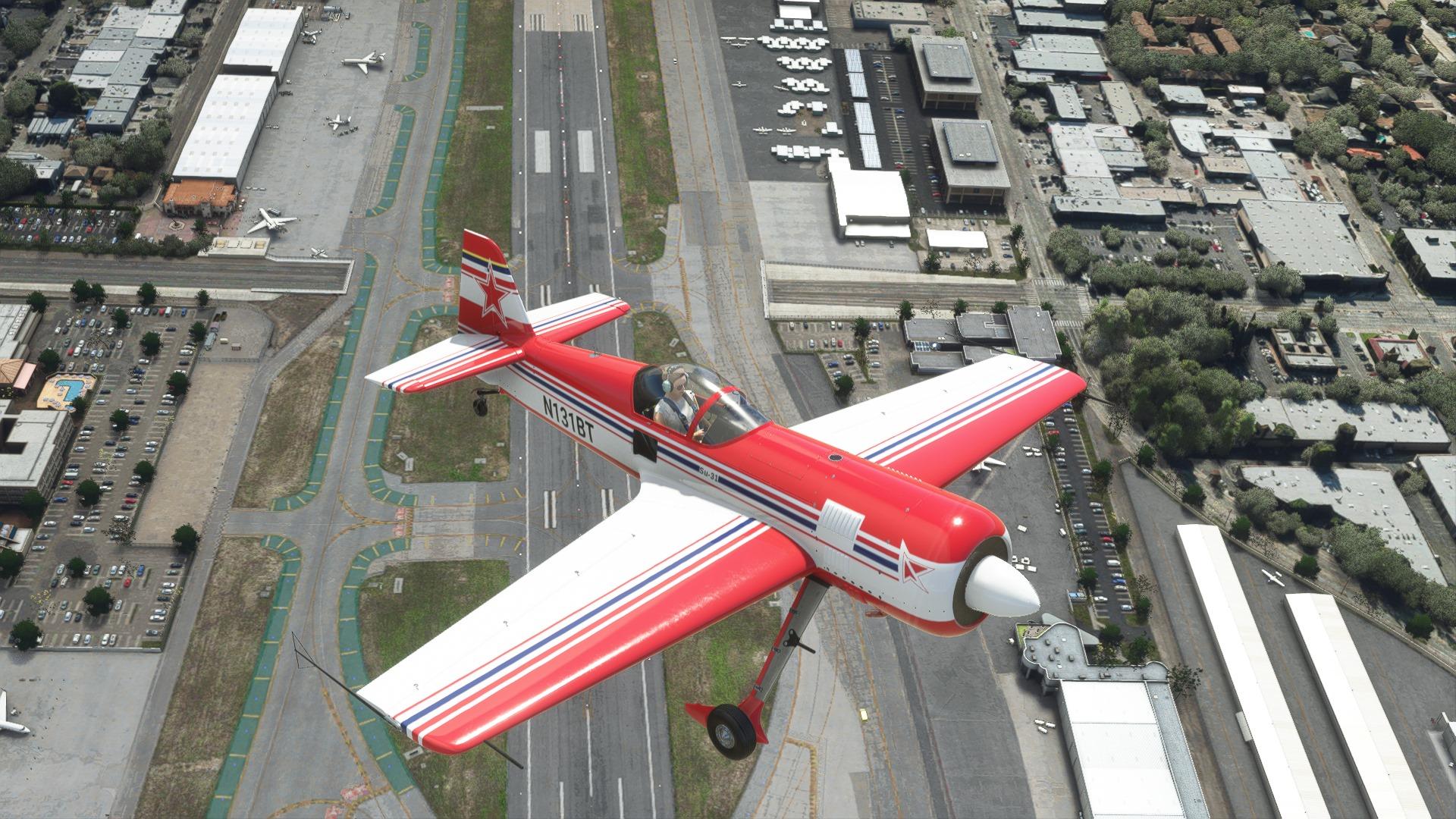 Microsoft Flight Simulator SU-31